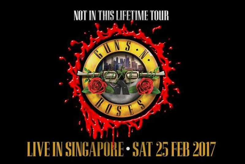 Who Is Touring With Guns And Roses In
