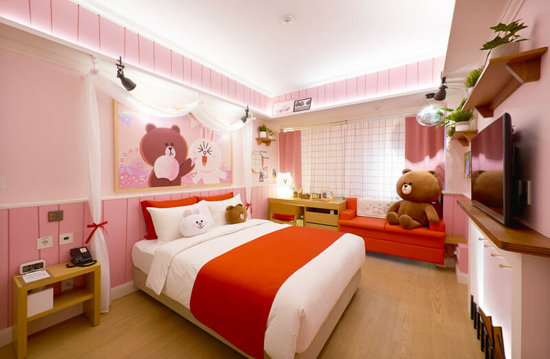Check Out These LINE FRIENDS Themed Rooms At Golden Tulip