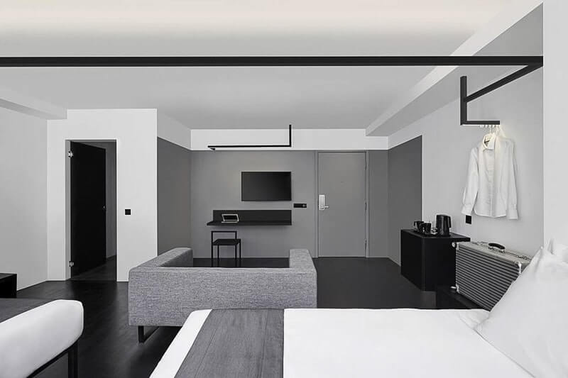 Hotel Mono Singapore 39 S First Black White Themed Hotel