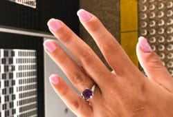 Jingwen's Engagement Ring