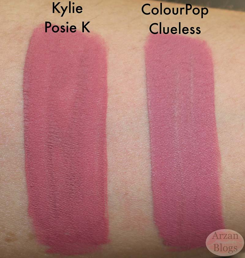 Colourpop Dupes 10 Swatch Online