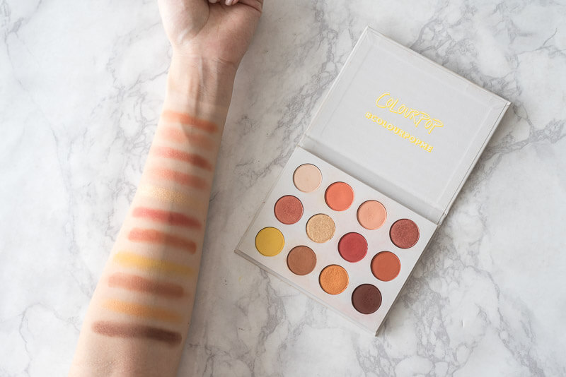 Colourpop Dupes 4 Yes Please Palette