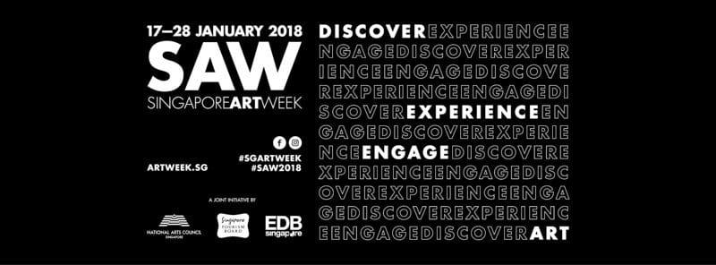 Singapore Art Week 2018 Banner online