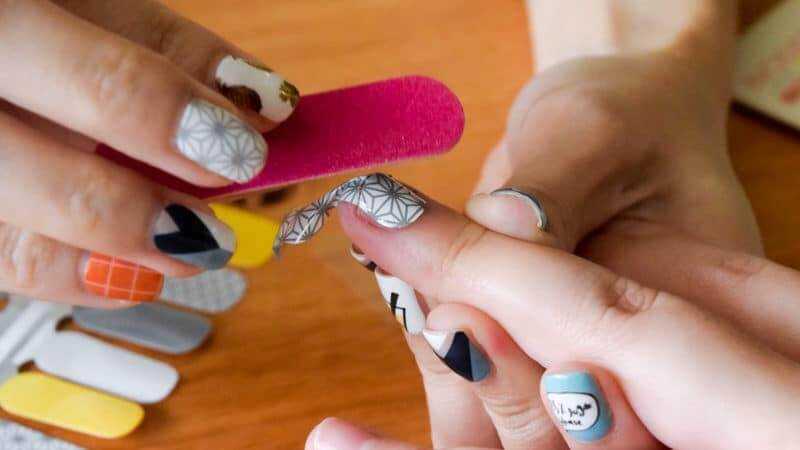Nodspark Put On Fuss Free Nail Wraps Designed In Sg That Will Save