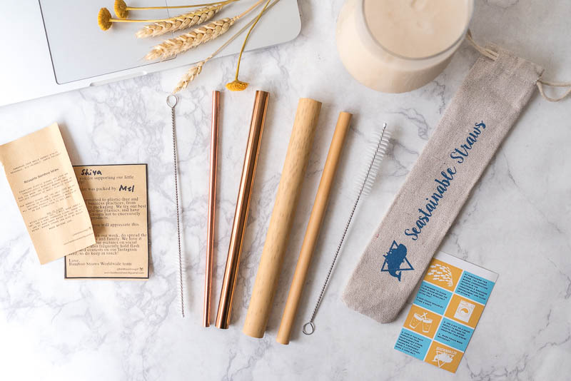 How To Decide Between A Metal Or A Bamboo Straw To Save The Planet