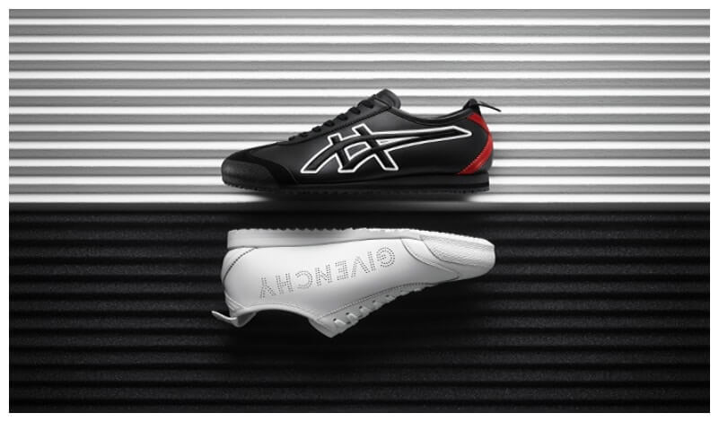 detailed look 4f6c5 87ed3 Givenchy Partners Onitsuka Tiger For Their First Ever ...